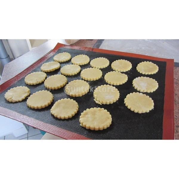 クッキングシート シリコン製 断熱パッド 断熱 耐久 水洗い可能 繰り返し使用可能 御菓子作りに オーブン・電子レンジ対応|stk-shop|06
