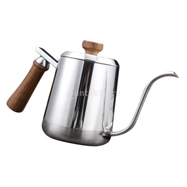 グースネック コーヒー ティー 紅茶 モカ ケトル 沸騰 ドリップポット ステンレス 全2容量選択可能  - #1|stk-shop|11