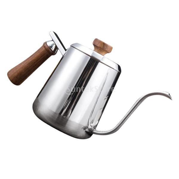 グースネック コーヒー ティー 紅茶 モカ ケトル 沸騰 ドリップポット ステンレス 全2容量選択可能  - #1|stk-shop|09