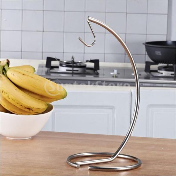 バナナツリーフックハンガーフルーツホルダーキッチン収納ラックスタンドオーガナイザー