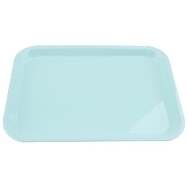 メラミンホテルのサービングの皿の皿のコップのガラスケーキ長方形の皿の青XL