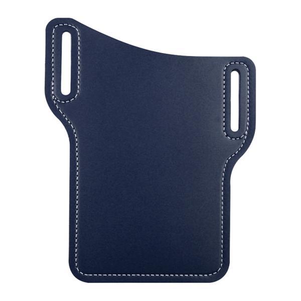 ブルー男性のウエスト電話ケースウエスト携帯電話PU??レザー小道具財布