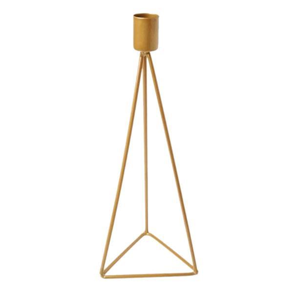 北欧の燭台キャンドルホルダースタンド結婚式卓上装飾品Golden_L