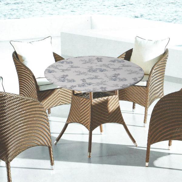 テーブルカバーは、パーティーココナッツツリー1.3mのために掃除しやすい弾力性のあるエッジを備えた防水性を備えています