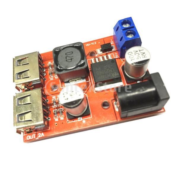 B Baosity デュアルUSB 9V/12V/24V/36V to 5V 3A DC-DC降圧コンバータ 車用 充電器 電源モジュール ソーラー|stk-shop|02
