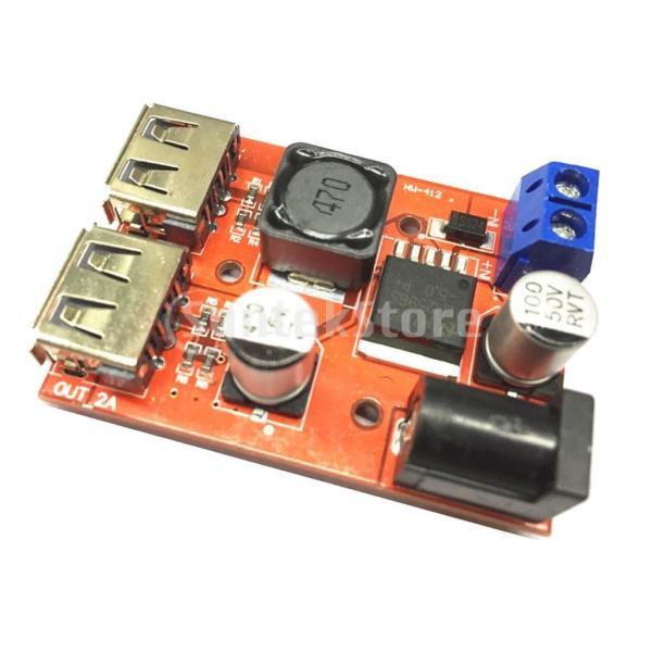 B Baosity デュアルUSB 9V/12V/24V/36V to 5V 3A DC-DC降圧コンバータ 車用 充電器 電源モジュール ソーラー|stk-shop|06