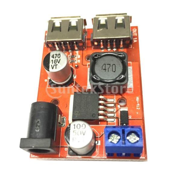 B Baosity デュアルUSB 9V/12V/24V/36V to 5V 3A DC-DC降圧コンバータ 車用 充電器 電源モジュール ソーラー|stk-shop|07