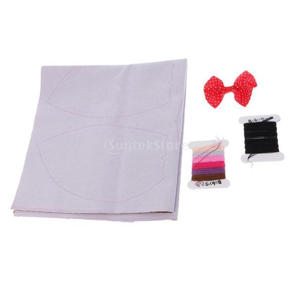 縫製工芸キット DIY ぬいぐるみ 芸術品 工芸品 チョコレートクマ 初心者 ベア人形|stk-shop|16