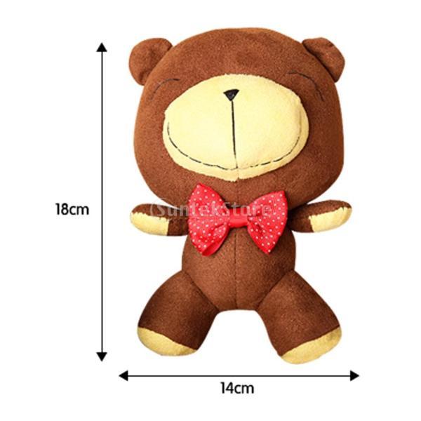 縫製工芸キット DIY ぬいぐるみ 芸術品 工芸品 チョコレートクマ 初心者 ベア人形|stk-shop|18