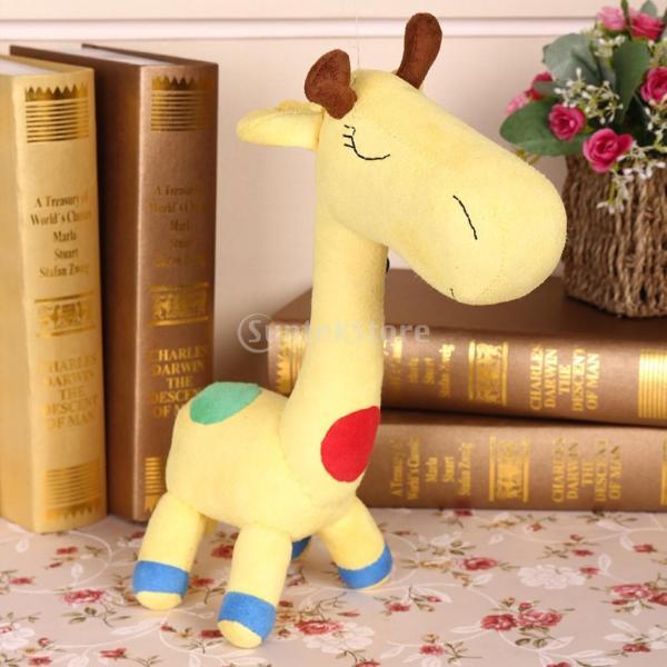縫製工芸キット DIY ドール作り ぬいぐるみ 芸術品 工芸品 初心者 可愛い キリン人形|stk-shop