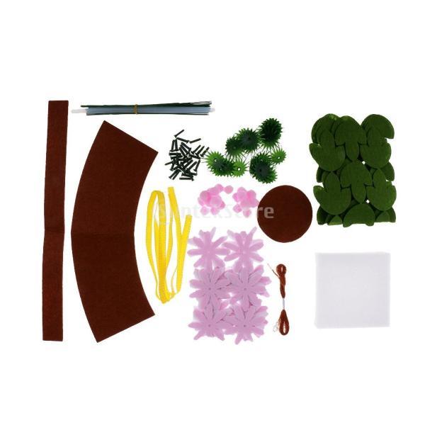 手作りキットセット 縫製スターターセット フェルト 不織布 DIY 可愛い デイジー|stk-shop|02