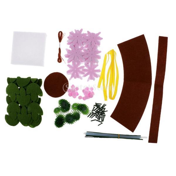 手作りキットセット 縫製スターターセット フェルト 不織布 DIY 可愛い デイジー|stk-shop|09