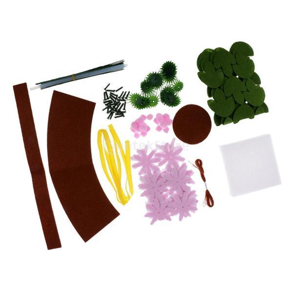 手作りキットセット 縫製スターターセット フェルト 不織布 DIY 可愛い デイジー|stk-shop|10
