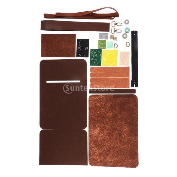 フェルト 不織布 クロスボディバッグキット クラフト 縫製 DIY 手作り 工芸|stk-shop|03