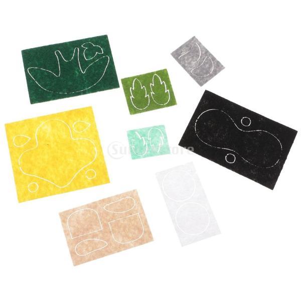 フェルト 不織布 クロスボディバッグキット クラフト 縫製 DIY 手作り 工芸|stk-shop|04