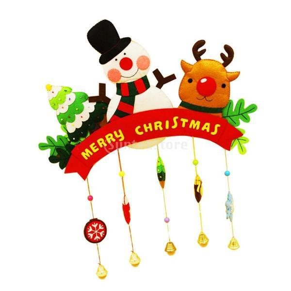 クリスマスのパターン フェルトクラフト フェルトアップリケキット DIY 不織布|stk-shop|13