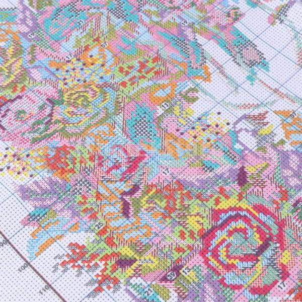 DIY刻印クロスステッチキット刺繍パッケージ14カウント - 美しいガーランド|stk-shop|02