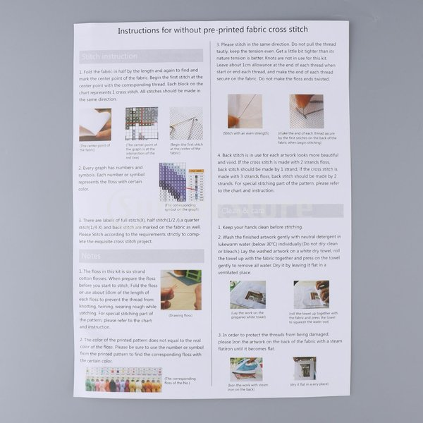DIY刻印クロスステッチキット刺繍パッケージ14カウント - 美しいガーランド|stk-shop|05