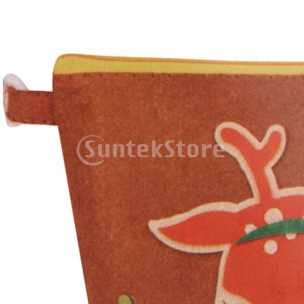 DIY不織フェルトアップリケ飾りキット手作りコインバッグ財布 - 鹿|stk-shop|02