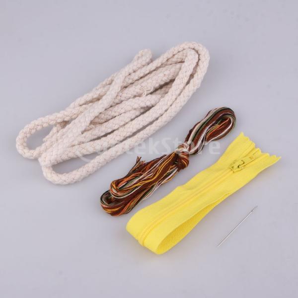 DIY不織フェルトアップリケ飾りキット手作りコインバッグ財布 - 鹿|stk-shop|04