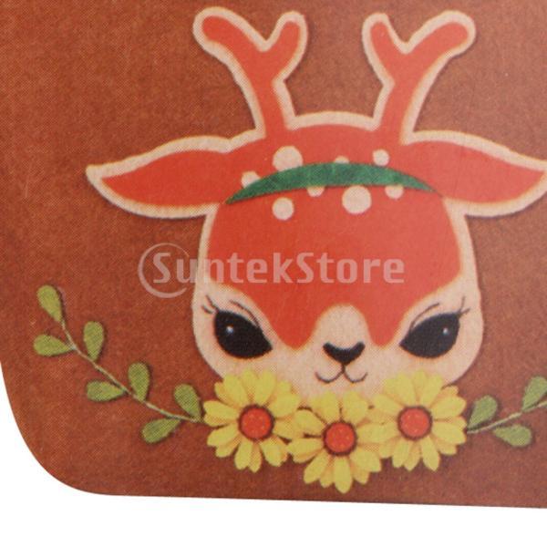 DIY不織フェルトアップリケ飾りキット手作りコインバッグ財布 - 鹿|stk-shop|06