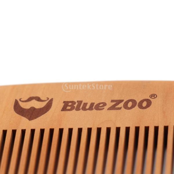 2個 ヘアコーム コーム 櫛 木製櫛 ヘアスタイリング用 静電気防止 高品質|stk-shop|04