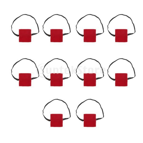 銅灸ボックス布バッグのための10個のやけどの証拠灸ヒートパックポケット stk-shop 04