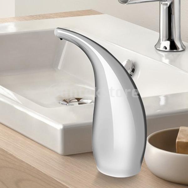 自動ホテルの家の浴室の石鹸の台所の流しの液体ディスペンサー300ml|stk-shop|08