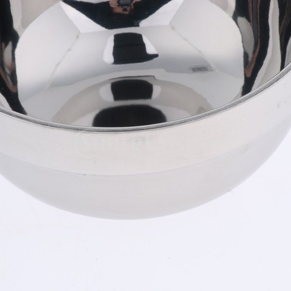 金属シェービングボウル 理容器 石鹸マグカップ 石鹸クリーニングボウル メンズ用 実用的 シルバー stk-shop 03
