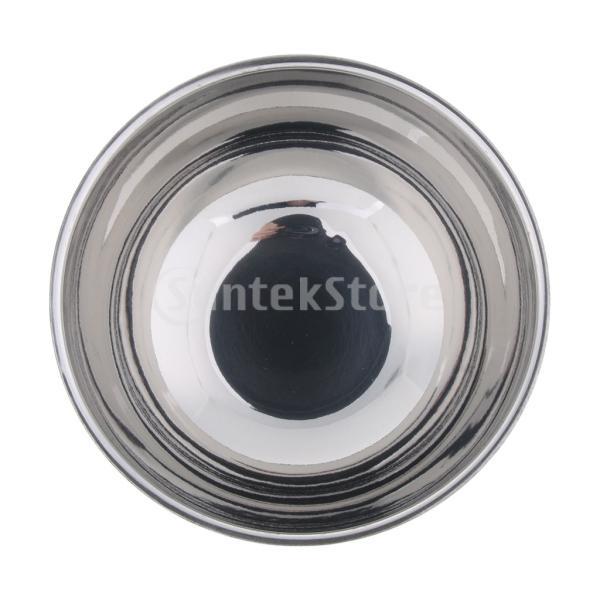 金属シェービングボウル 理容器 石鹸マグカップ 石鹸クリーニングボウル メンズ用 実用的 シルバー stk-shop 07
