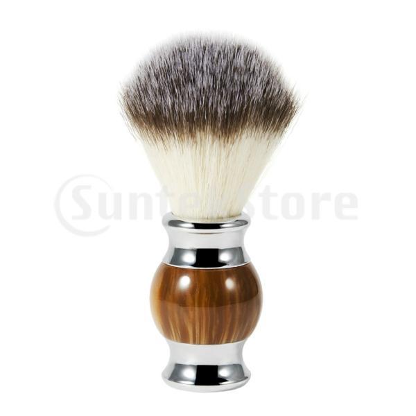シェービングブラシひげ剃りブラシ口ひげブラシ理髪サロン髭剃りひげ剃り泡立ち