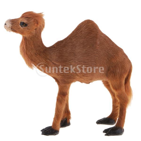 F Fityle ラクダ模型 動物モデル クリスマスパーティー 家の装飾 stk-shop 02