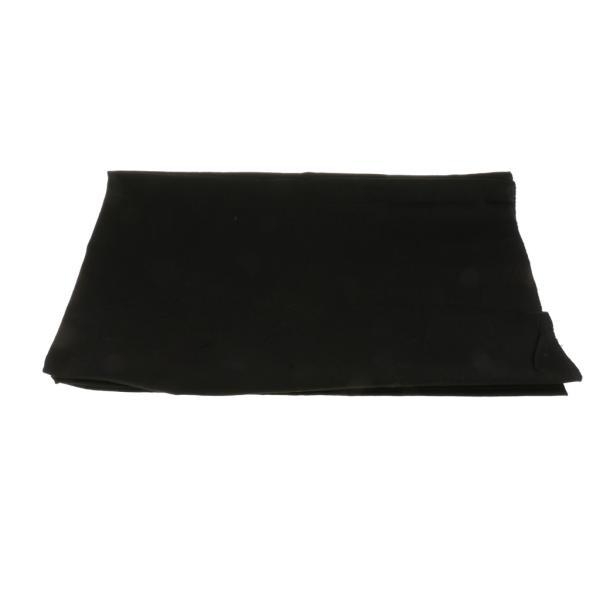 Flameer 撮影スタジオ背景布 背景シート 写真 ビデオ テレビに対応 無反射 100x150cm 全5色 - 黒