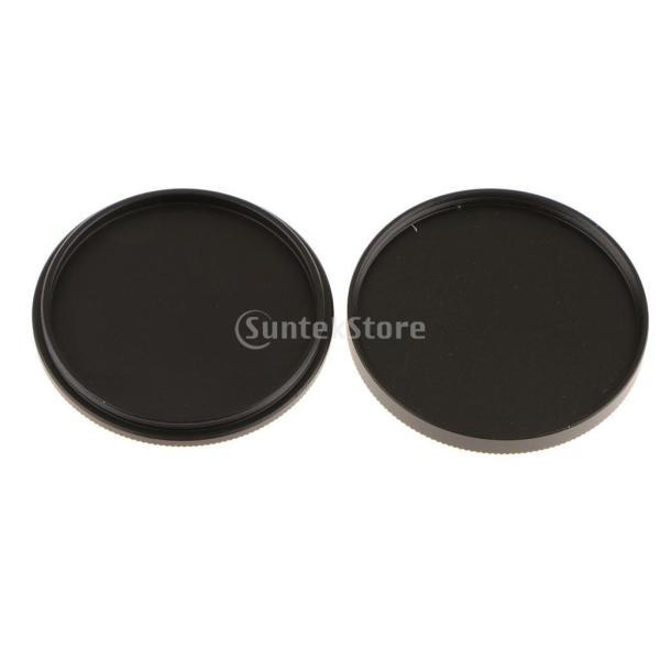 Flameer フィルターキャップ ケース 金属 UV/CPL/ND 金属 便利 全3サイズ - 40.5mm