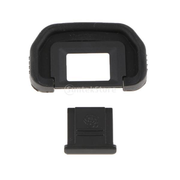 ホットシューカバー付き カメラファインダー アイカップ Canon EOS 6D Mark II/80D対応 アイピース