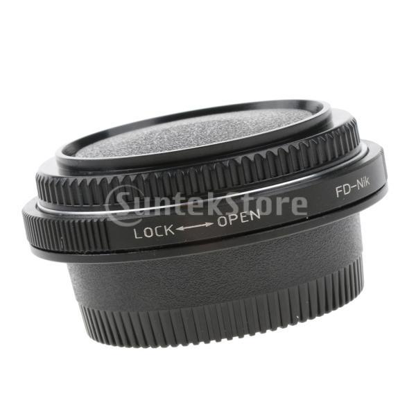 Baoblaze Canon FDマウントレンズ−Nikon AIマウントカメラ レンズアダプターリング