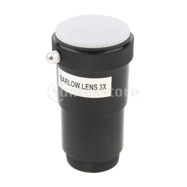 Perfeclan 望遠鏡 Barlowレンズ 3倍率 バローレンズ 標準1.25インチ/31.7mm