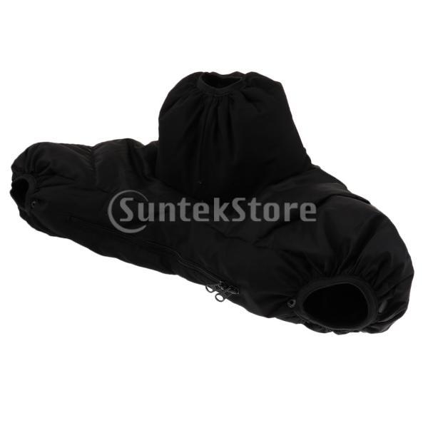 Perfeclan 一眼レフ 防寒カバー 三脚アクセサリー用 ハンドカバー付き プロテクター 耐候性