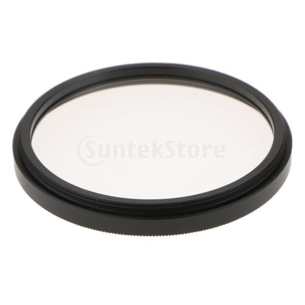 B Baosity クロスフィルター 4ポイント スターライト効果 Nikon Canonカメラレンズフィルター 直径52mm
