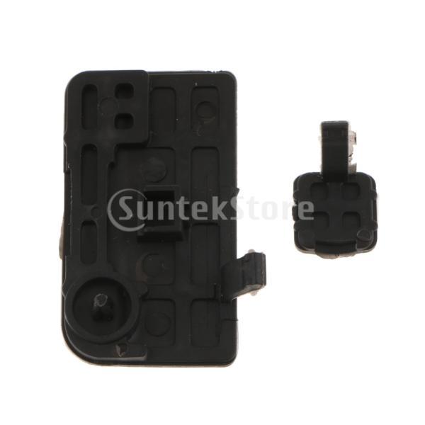 Baoblaze Nikon D80用 USBインターフェースキャップ ゴムカバー AV OUT DC IN HDMI GPS蓋