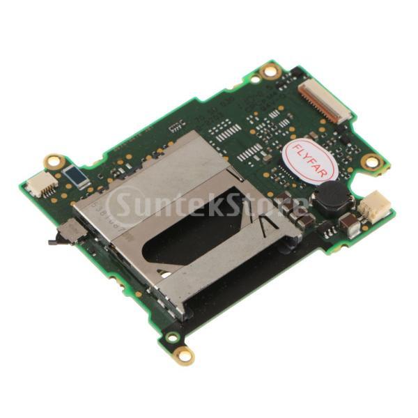 FLAMEER SDメモリーカードリーダーPCBボード Canon EOS 550D適用 交換部品