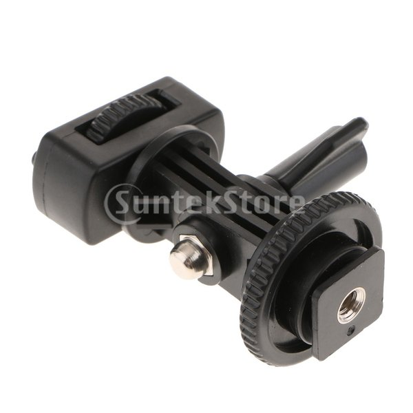 FLAMEER 高品質 三脚マウントアダプター 3ウェイ 調整 Sonyアクションカメラ用  安定性