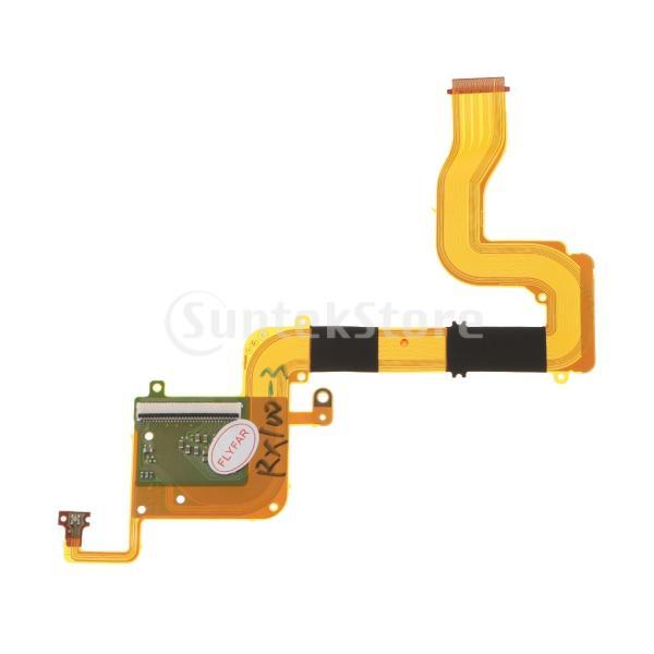 液晶ディスプレイヒンジフレックスケーブル  DSC-RX100M3 RX100M4 RX100M5適用 交換 修理部品