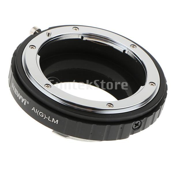 FLAMEER レンズアダプタ Nikon G AI Dレンズ to Leica LMカメラ LM-EA7 AIG-LMレンズアダプタ