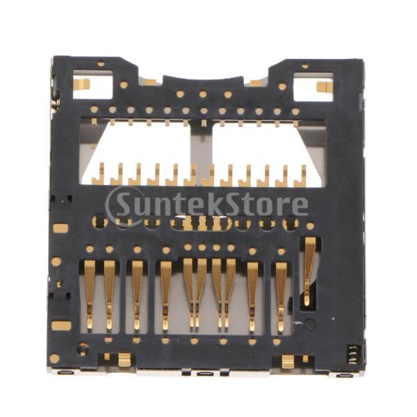 FLAMEER SDメモリカードトレイ Panosonic HC-V100 AG-HMC155 HMC153 HMC150に適合 修理部品
