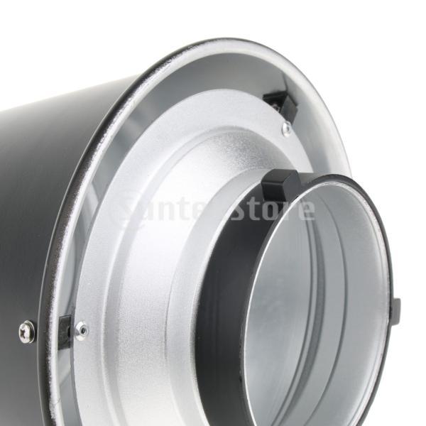 FLAMEER コニカルスヌート スピードライト用 Bowensマウント撮影機材 ライトコントロール