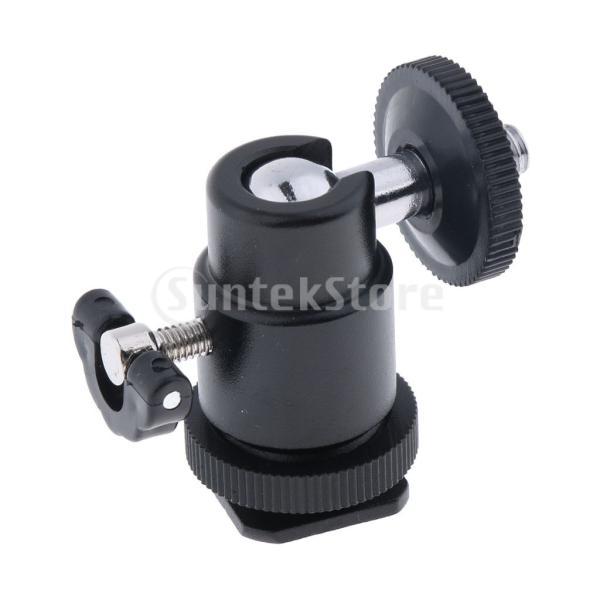 FLAMEER ロッドクランプ 三脚 DSLRカメラモニター ライトマウント DJI Ronin-M対応 1/4インチ 陽極酸化アルミニウム