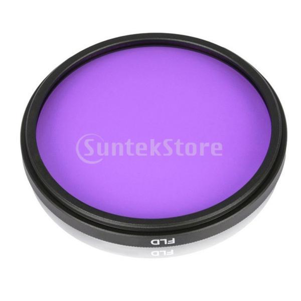 Baoblaze 全8サイズ レンズフィルター UV + CPL + FLD デジタル一眼レフカメラ用 キャリーバッグ付き - 62mm