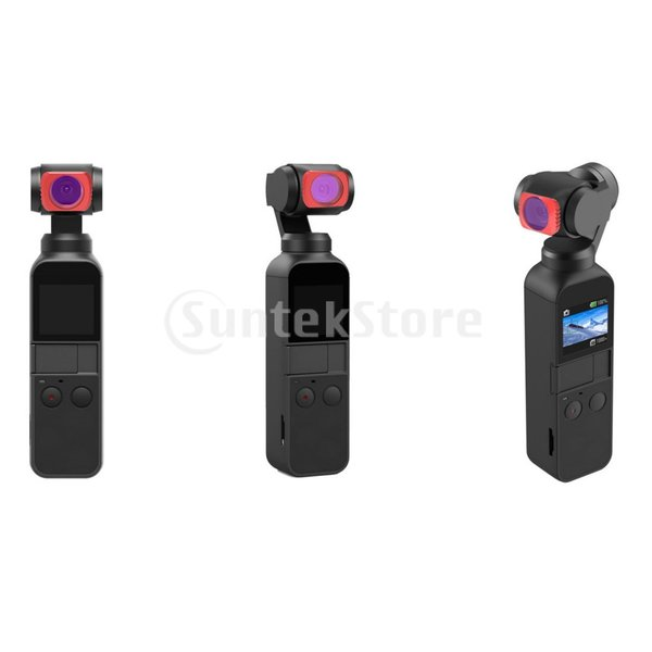 DJI OSMOポケットカメラ用5in1レンズフィルターセットUV / CPL / ND8 / ND16 / ND32フィルター