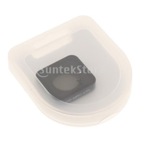 FLAMEER CPLフィルター GoPro Hero 7 5 6対応 カメラレンズ保護カバー